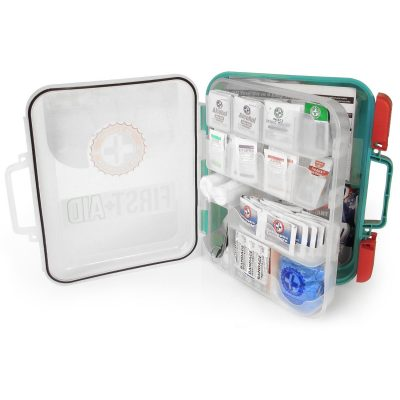 First Aid Kit 351 Items (Osha) open