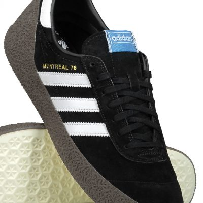 Adidas Montreal 76 Vapour Black & White Compact Sole Sneakers